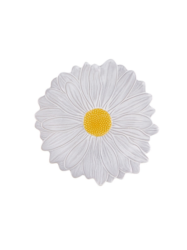 Maria Flor Small Plate Daisy Set Of 4