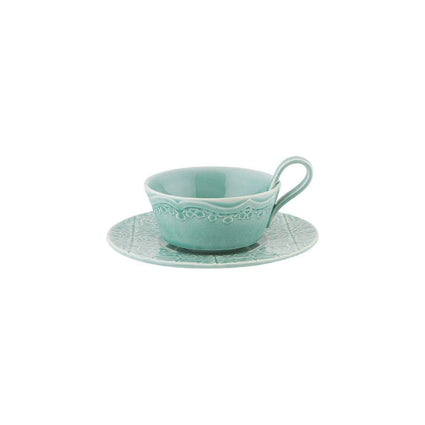 Rua Nova Blue Tea Cup Set of 4