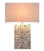 Mosaic Eucalyptus Medium Table Lamp