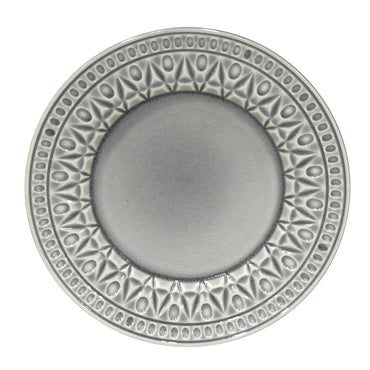Cristal Grey Salad Plate Set of 4