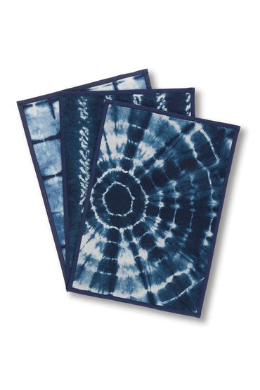 Indigo Ink Placement Set of 6 (Only Available Through Haiti Showroom)