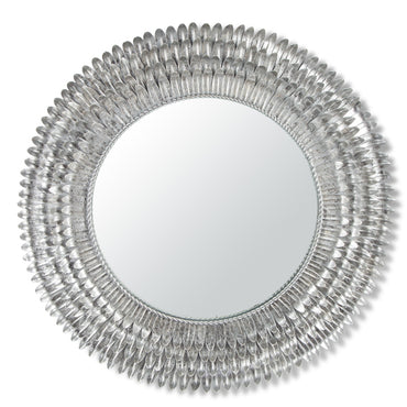 Metal Feather Edge Mirror(Only Available Through Haiti Showroom)