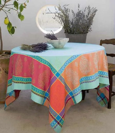 Tablecloth Casis Turquoise