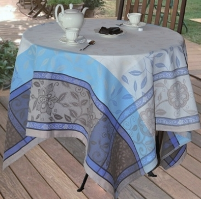 Tablecloth Florentine Blue