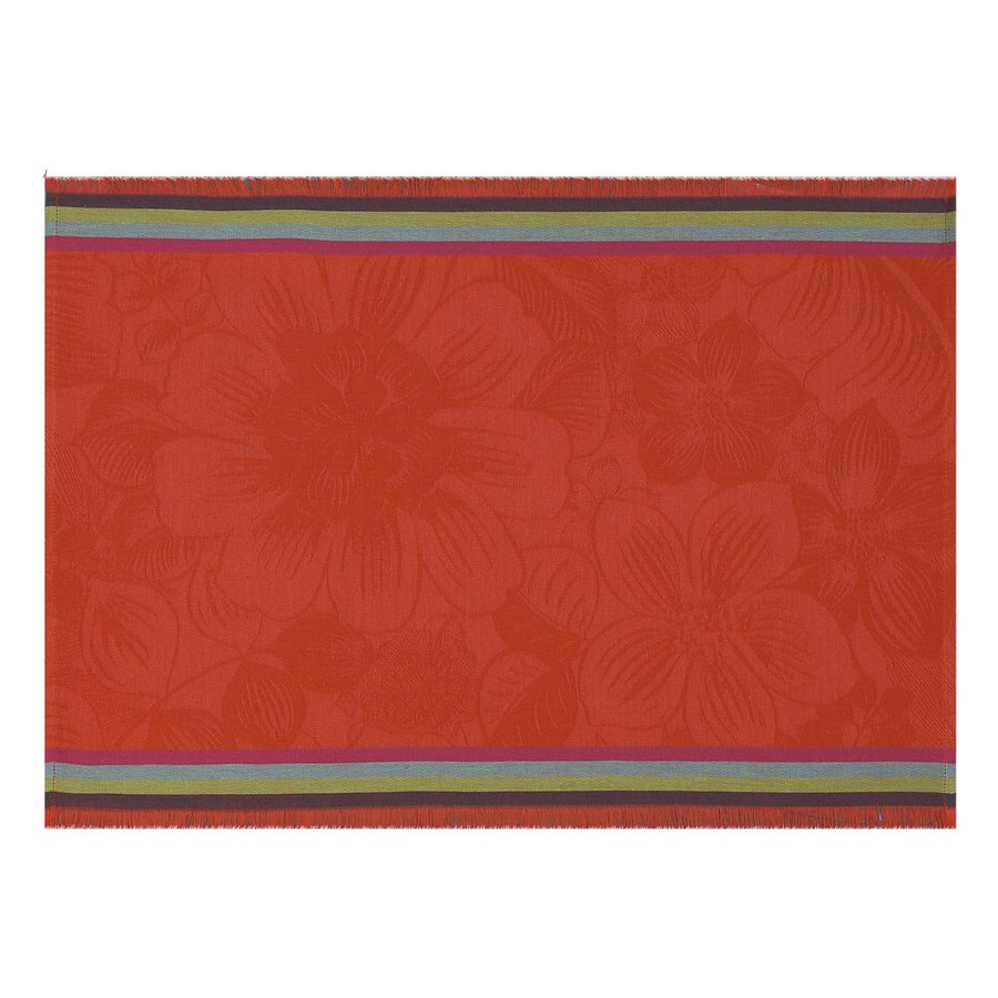 Boheme Poppy Placemat Set of 4