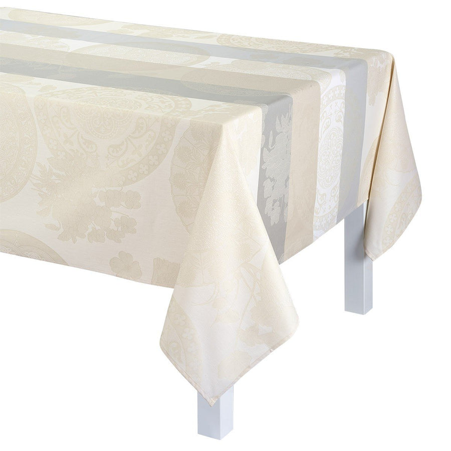 Fleurs Gourmandes Chalk Coated Tablecloth