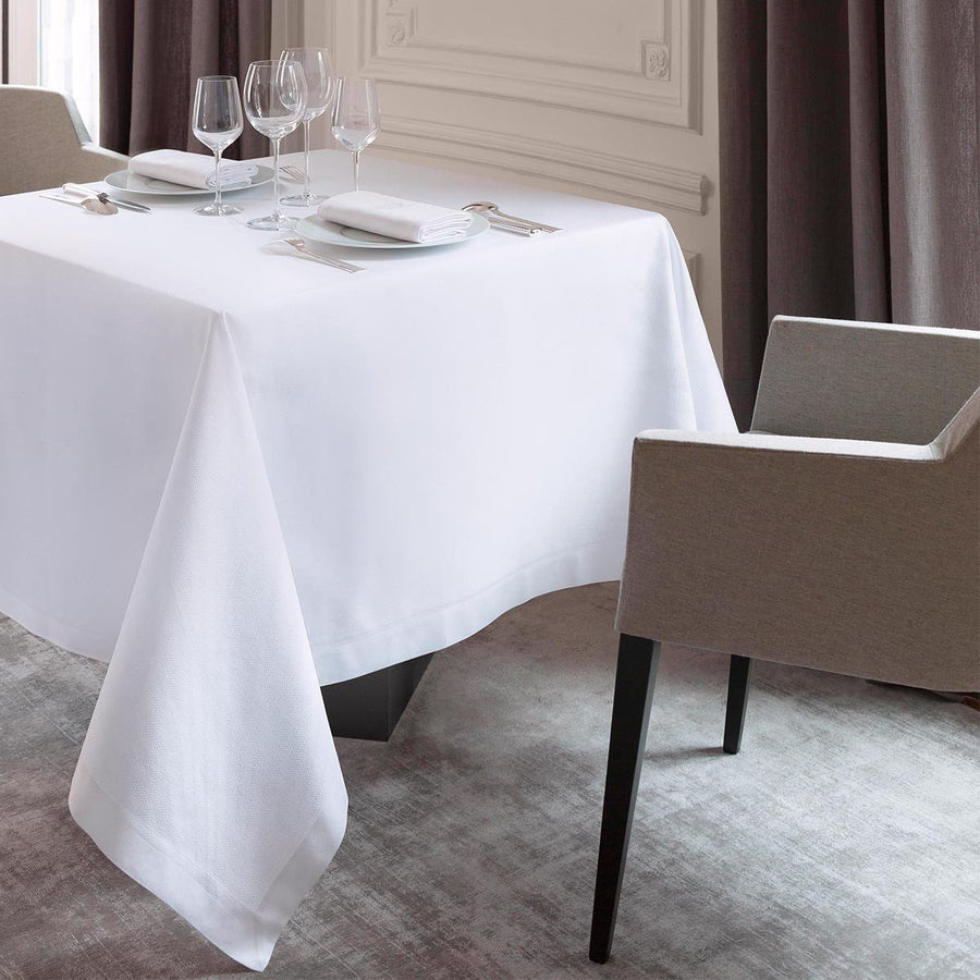 Offre White Granit' Tablecloth