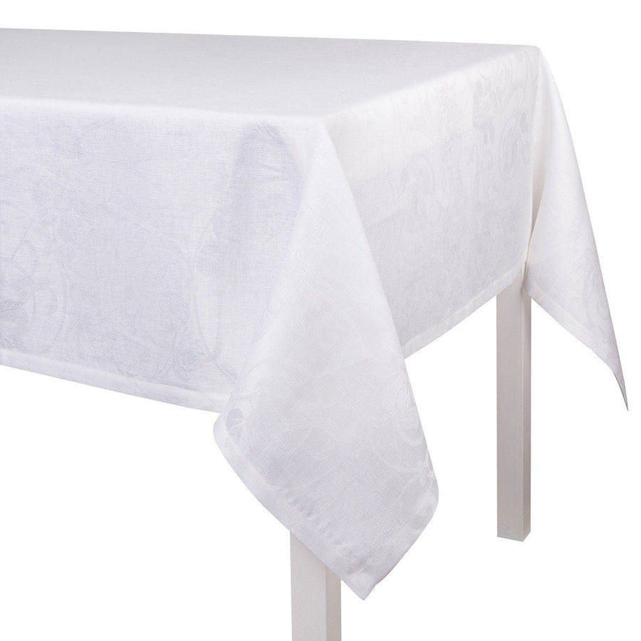 Tivoli White Tablecloth