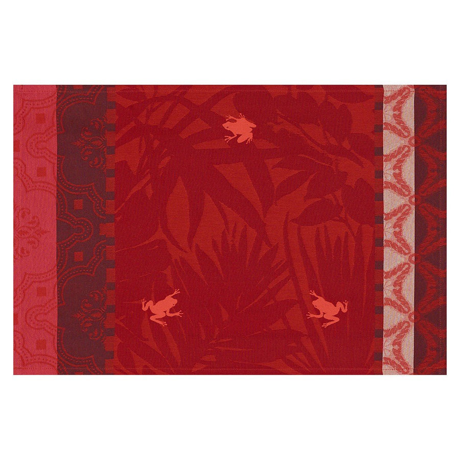 Bahia Red Coated Placemat Set of 4