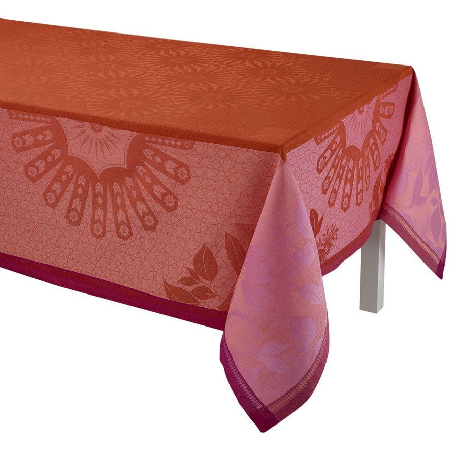 Jardin D'orient Red Tablecloth