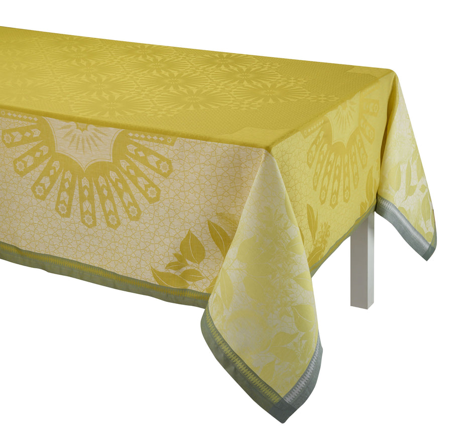 Jardin D'orient Yellow Tablecloth