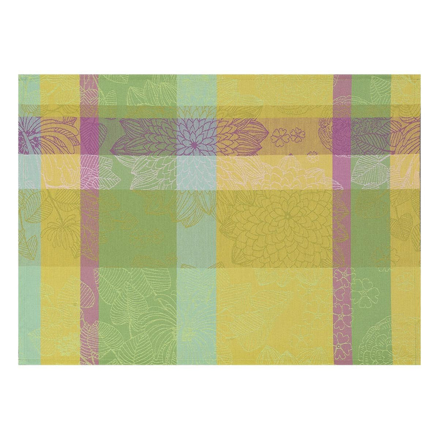Marie Galante Lemon Coated Placemat Set of 4