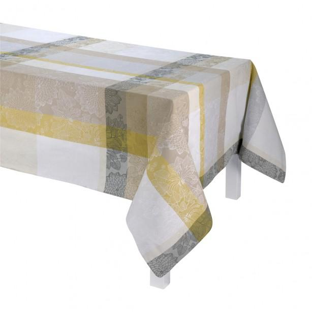Marie Galante Coconut Coated Tablecloth