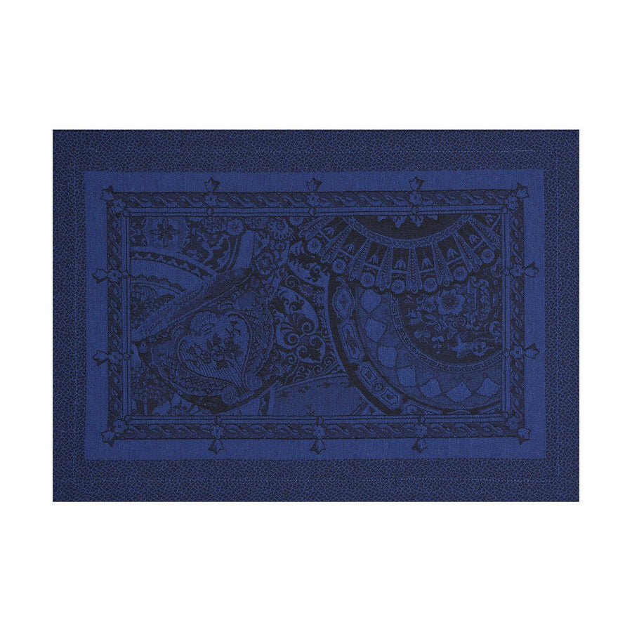 Porcelaine China Blue Placemat Set of 4