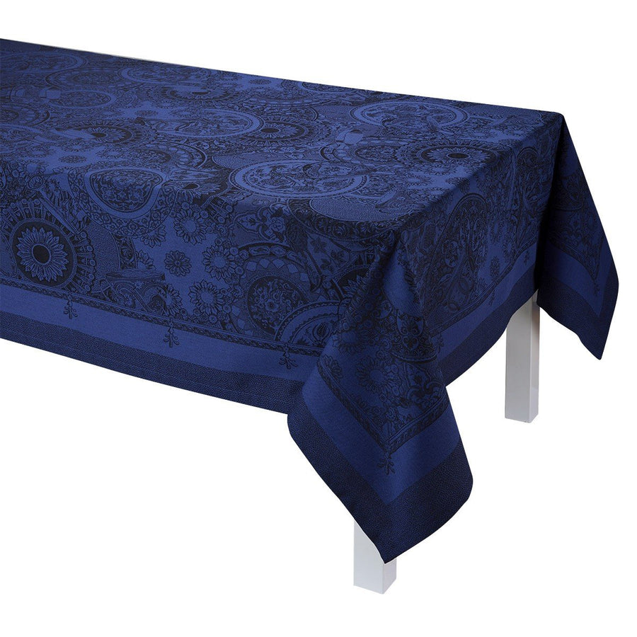 Porcelaine China Blue Tablecloth