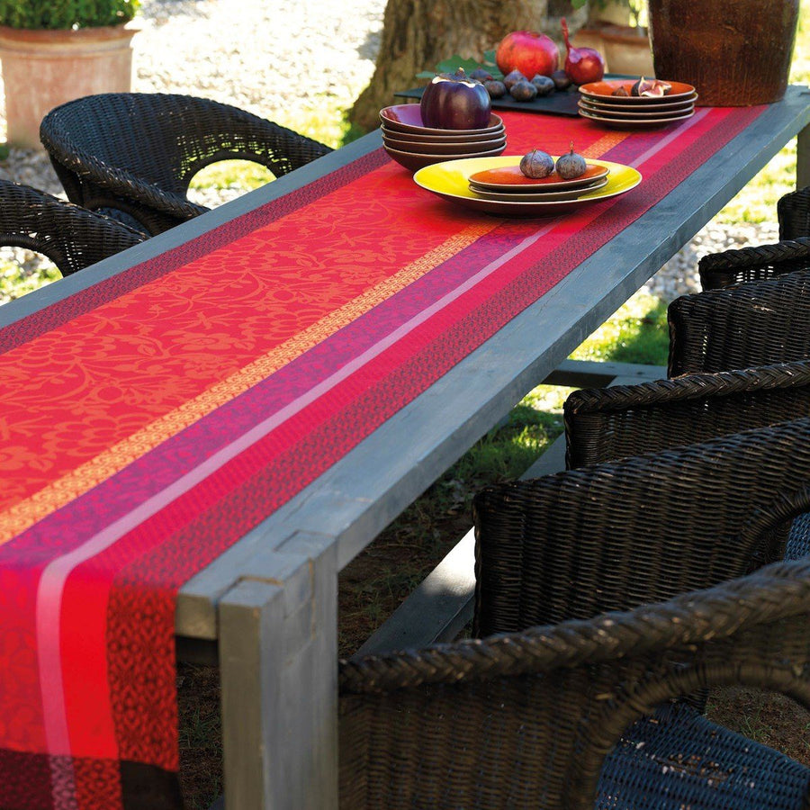 Provence Strawberry Table Runner