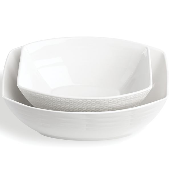 Entertain 365 Sculpture 2-piece Bowl Set