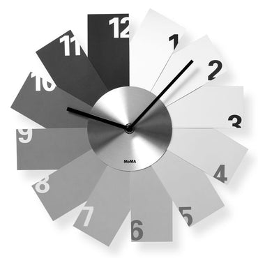 Monochrome clock