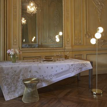 Haute Couture Gold Tablecloth