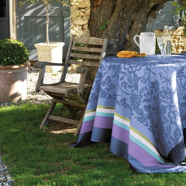 Provence Lavender Blue Coated Tablecloth