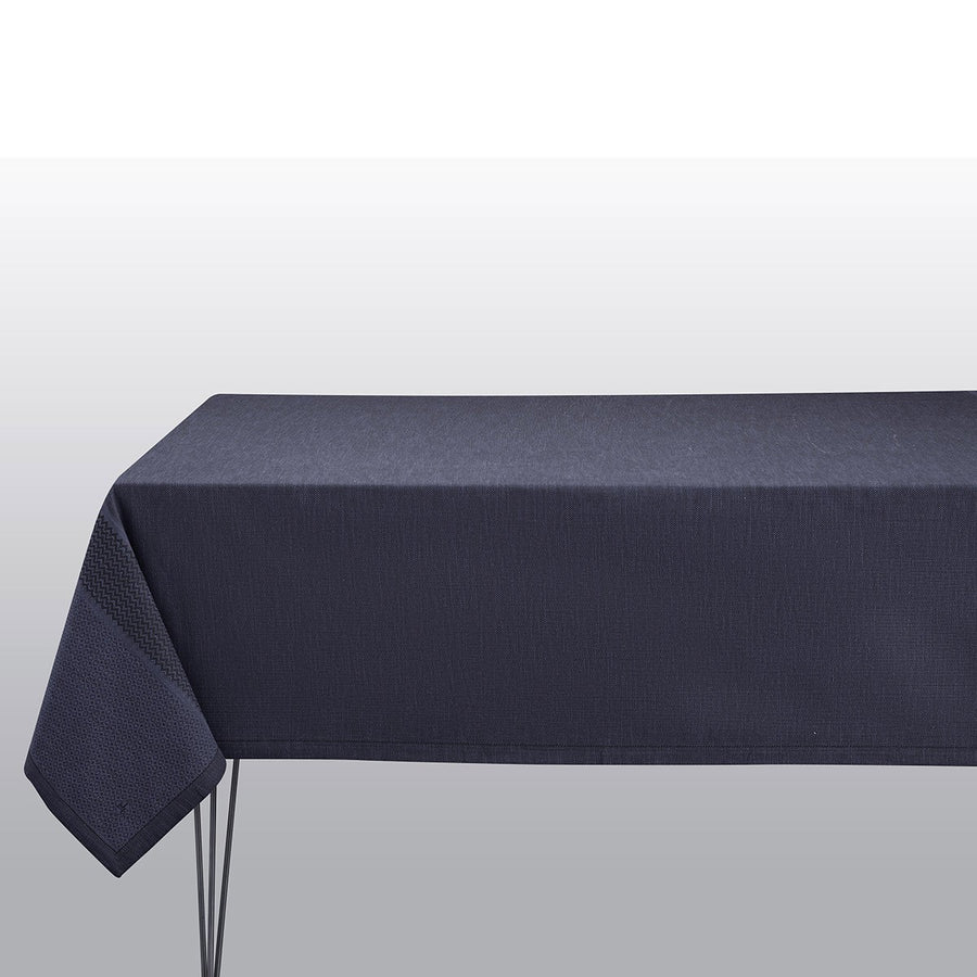Slow Life Cobalt Tablecloth