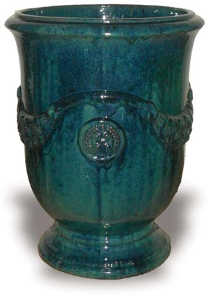 French Urn Forest Green