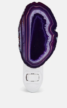 Agathe Amethyst Nightlight