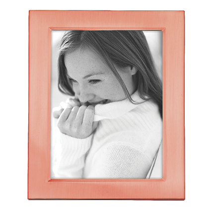"Classic Rose Gold 5"" x 7"" Frame"