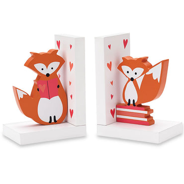 Hazelnut Hollow Fox Bookends