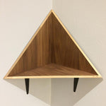 Large Modern Triangle Corner Wall Shelves