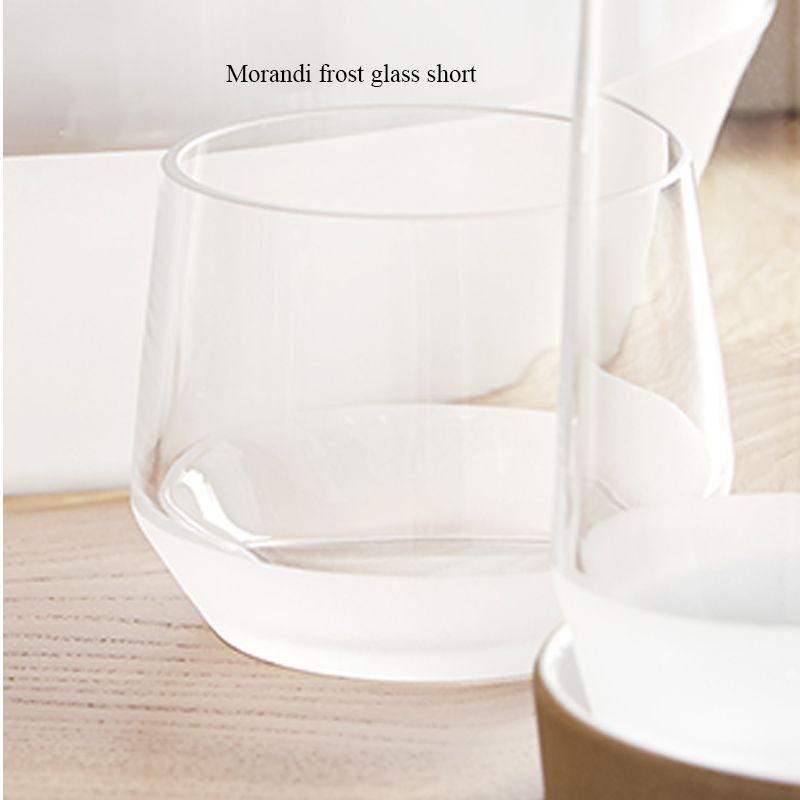 Morandi Frost Glass Short Set of 6