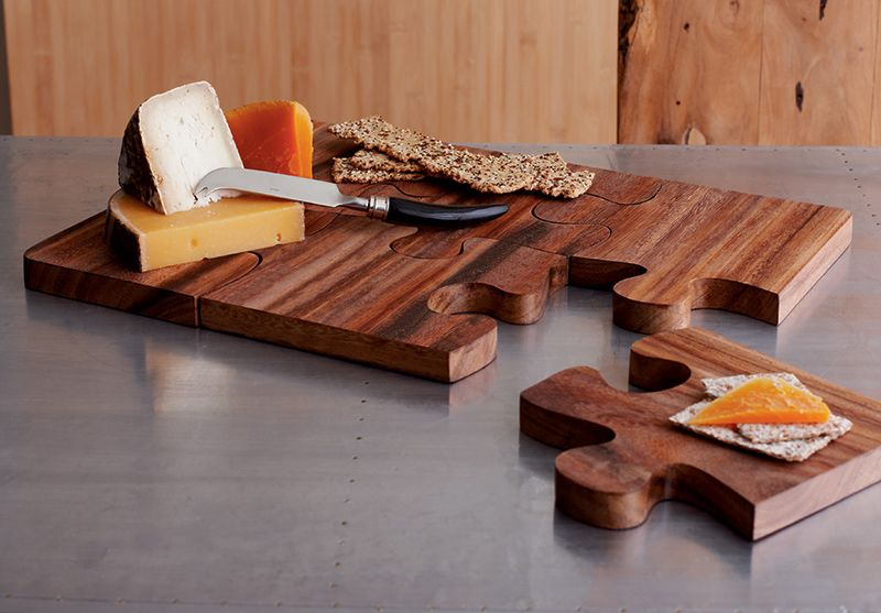 Puzzle Serving Board