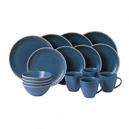 Maze Grill Blue Hammer  16-Piece Set