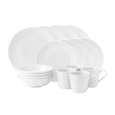 Maze White 16 Piece Set