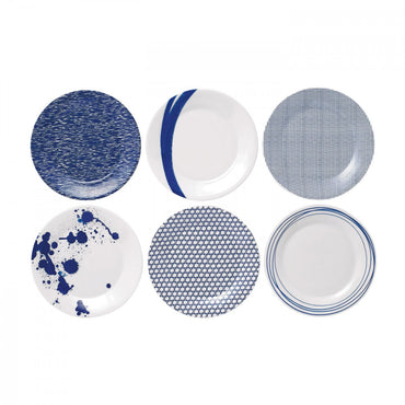 Pacific Accent Plate Set of 6