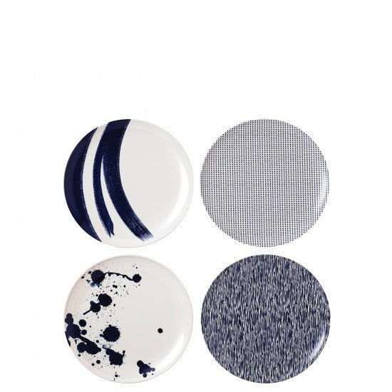 Pacific Melamine Salad Plate Set of 4