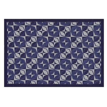 Bistronome Jules Blue Coated Placemat Set of 4