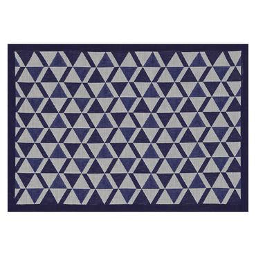 Bistronome Marcel Blue Coated Placemat Set of 4