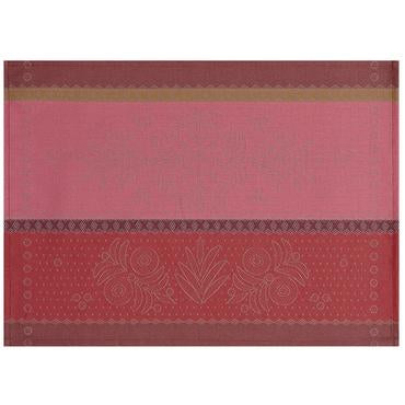 Vent d'Ouest Strawberry Coated Placemat Set of 4