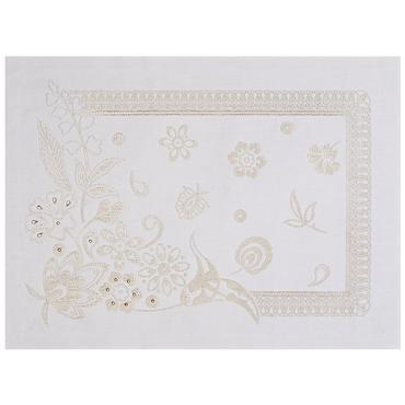 Haute Couture Cristal Gold Placemat Set of 4