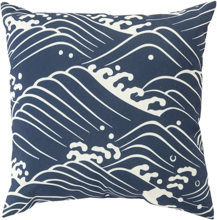 Mizu Pillow Blue Neutral