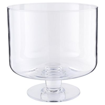 Clear Bowl On Stand
