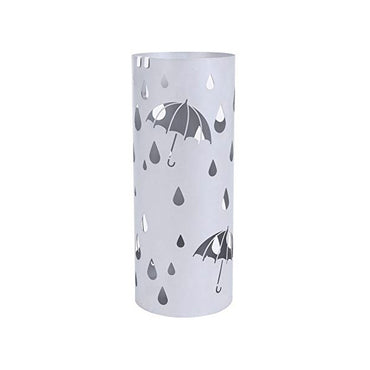 Metal Umbrella Stand Silver Gray Umbrella Holder