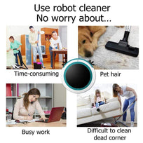 Load image into Gallery viewer, Automatic  Robot Vacuum Cleaner Mopping Sweeping Suction Cordless Auto Dust Sweeper Machine Anticollision for Home Cleaning Ableasy