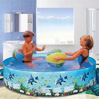 Load image into Gallery viewer, Children's Swimming Pool Blow Up Pool For Family Kids Backyard Foldable Children's Paddling Pool Inflatable Pool Large Size Ableasy