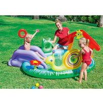 Load image into Gallery viewer, Inflatable Swimming pool with Slide for Kids 4-9 working days shipped by Fedex/DHL / Type B Ableasy