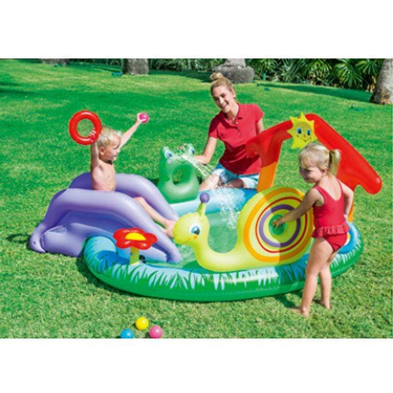 Inflatable Swimming pool with Slide for Kids 4-9 working days shipped by Fedex/DHL / Type B Ableasy