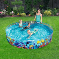 Load image into Gallery viewer, Plastic Swimming Pool Blow Up Pool For Family Kids Ableasy