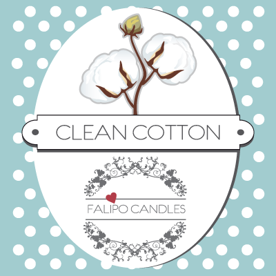 Votief Sojawas Geurkaarsje Clean Cotton 50 ml.