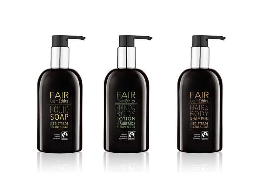 Fair Trade 300ml pompfles set